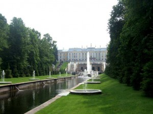 Parc Peterhof à Saint Petersbourg3