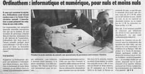 Read more about the article La Voix du Nord 17.09.2008
