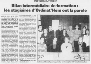La Voix du Nord 27.10.2008