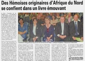 Read more about the article La Voix du Nord du 21.04.2011