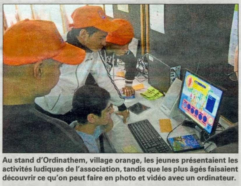 Read more about the article Reportage La Voix du Nord du 26.06.2012