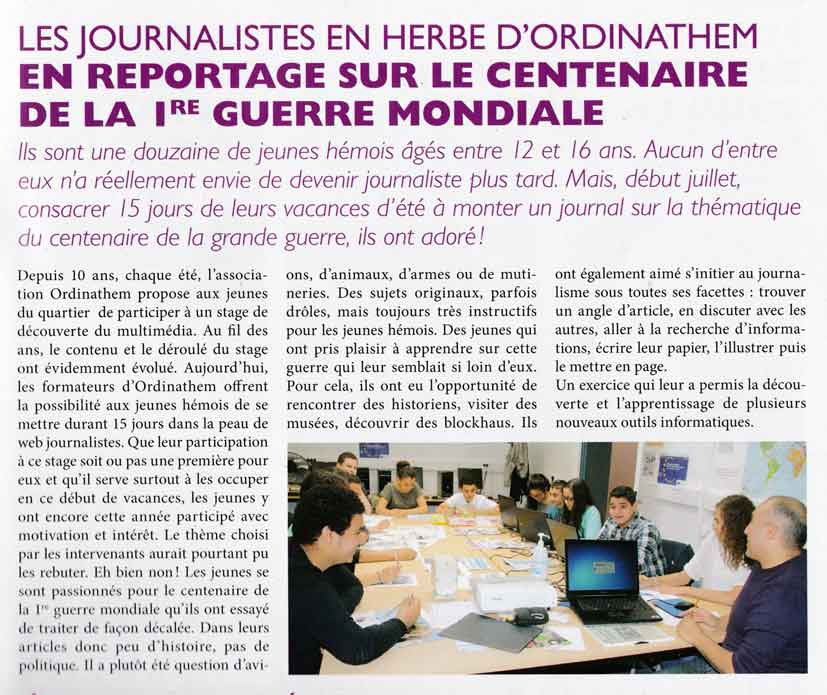 Read more about the article Tout Hem Mag Octobre 2014