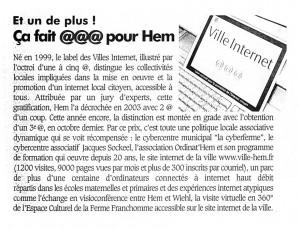 ToutHem Magazine .01.2005