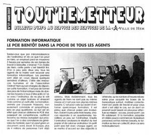 Read more about the article Tout'Hemmetteur 03.2007