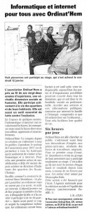 Read more about the article VdN 12.01.2007
