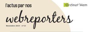 Journal des Webreporters 2019